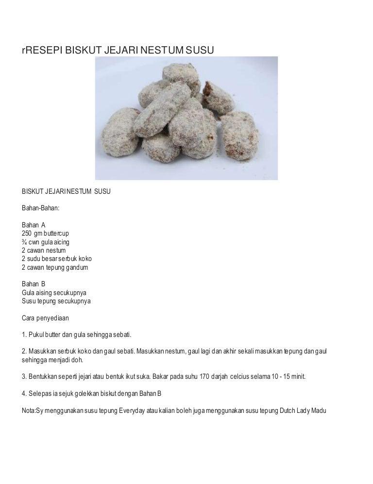 biskut susu tepung hybrid art Resepi Biskut Suji Cair Di Mulut Enak dan Mudah