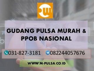 Bisnis pulsa nasional