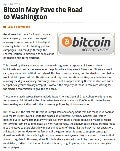 Bitvestment Partners Says Bitcoin May Pave The Road To Washington