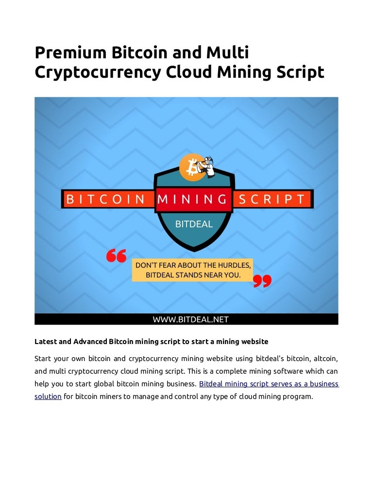 multi cryptocurrency mining software