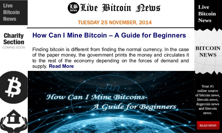 live bitcoin news