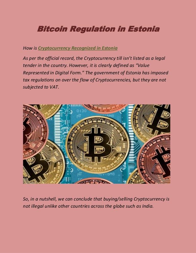 Estonia ar vrea să-și facă propriul Bitcoin