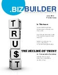 BIZ Builder Magazine - The Decline of Trust in Corporate America - June 2012