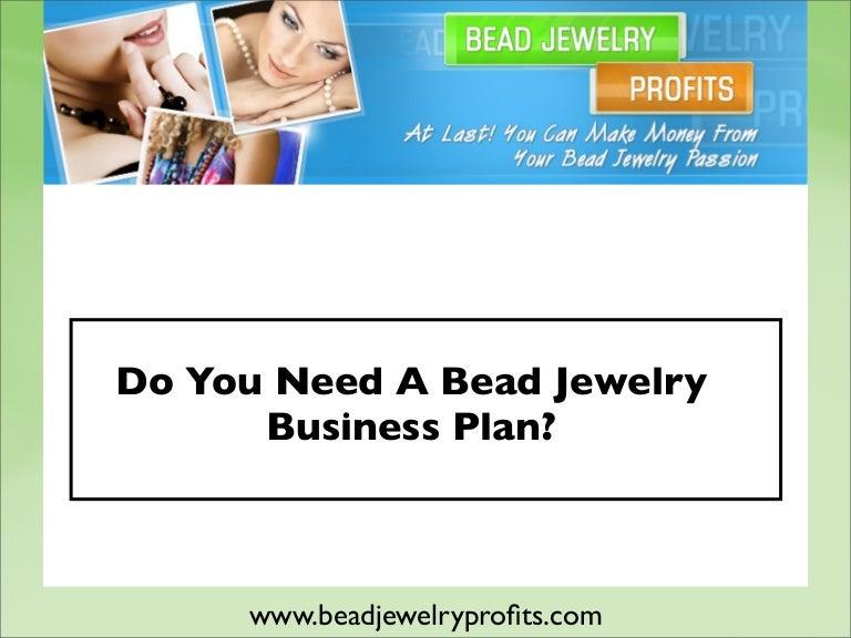 bead store business plan