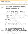 Digital Marketing Resume 4 Digital Marketing Resume Of Bridget Thornton