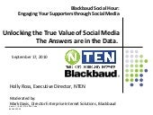 Unlocking the True Value of Social Media