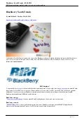 (mobileYouth) Blackberry Youth Trends