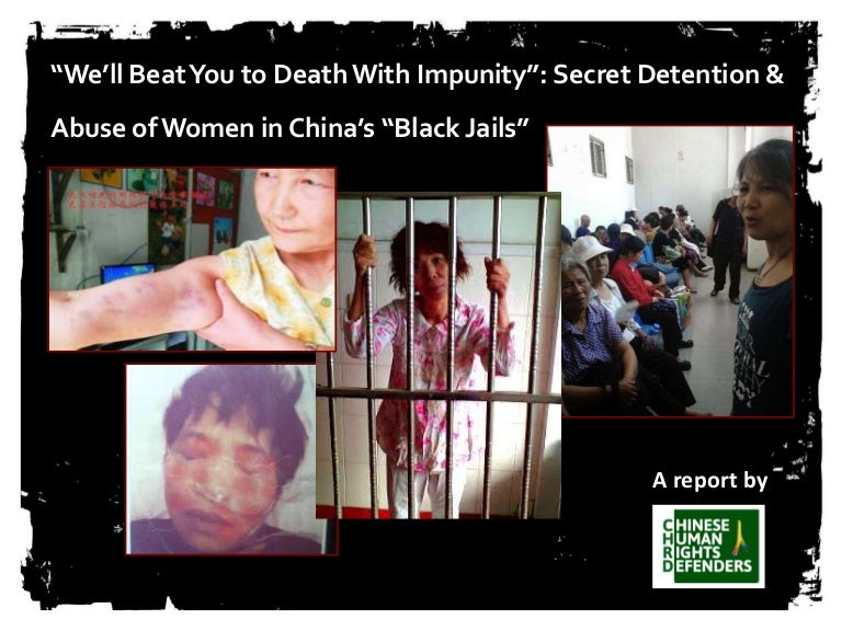 Image result for china:black jails