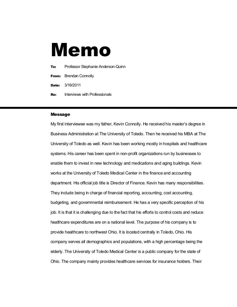 Memo Essay Example. Finance Department Coso Implementation Memo