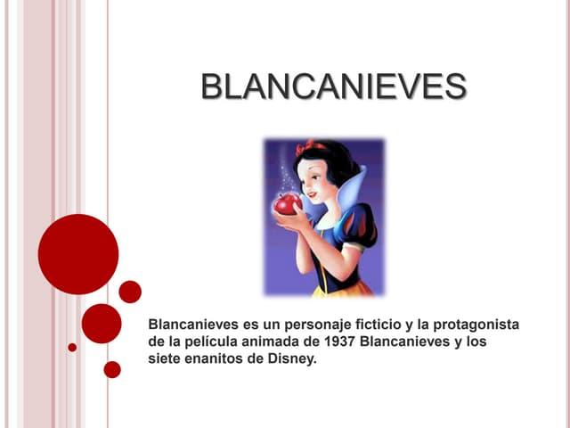 Blancanieves. horacio german garcia