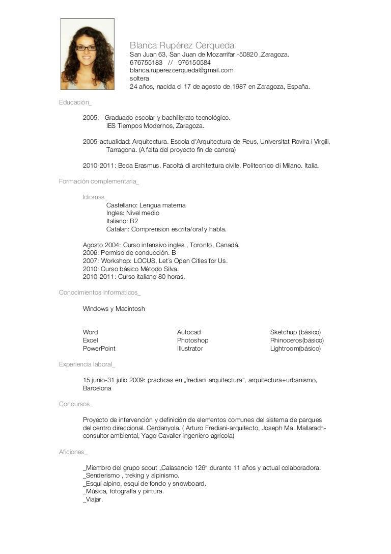Blanca Rupérez Cerqueda cv+grafico