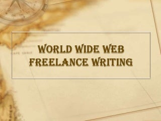 Introduction to Freelance Writing