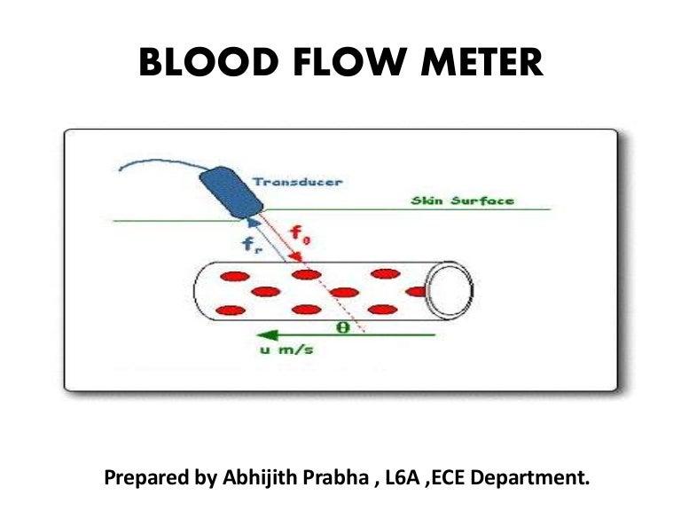 Blood flow measurement ccuart Choice Image