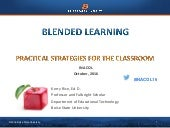 Blended Learning: Practical Strategies for the Classroom