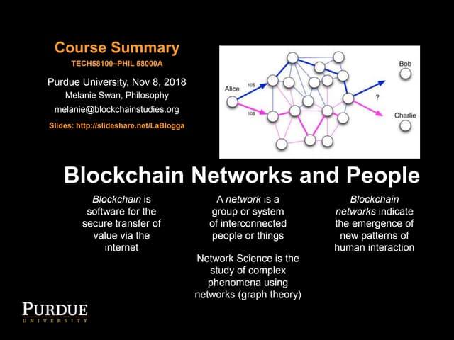 Blockchain Network Theory