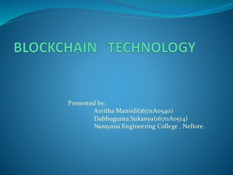 bitcoin technology ppt download)