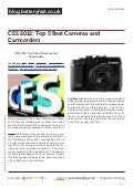 Blog.batteryfast.co.uk ces-2012-top-5-best-cameras-and-camcorders