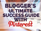 Blog Strategy Ultimate Guide to Success with Pinterest via @annazubarev