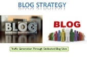 Strategies for Marketing your Blogs