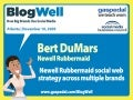 BlogWell Atlanta Social Media Case Study: Newell Rubbermaid, presented by Bert DuMars