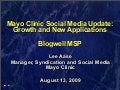 Mayo Clinic at Blogwell MSP