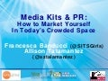 BlogWorld LA 2011: How To Market Yourself In Today's Crowded Space
