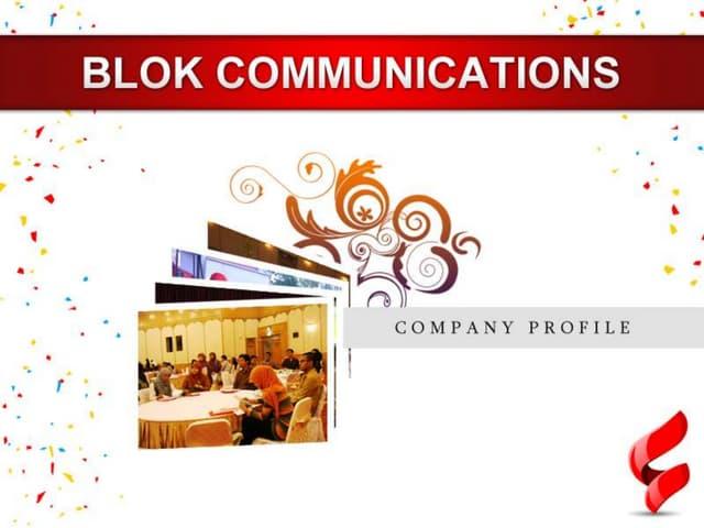 Blokcomm presentasi