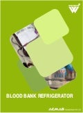 Types of Blood Bank Refrigerators by ACMAS Technologies Pvt Ltd.