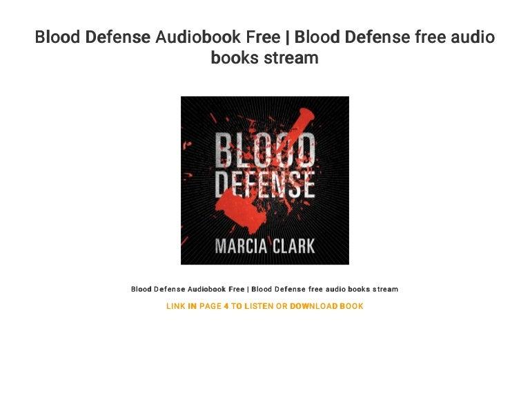 Blood Defense Audiobook Free | Blood Defense free audio