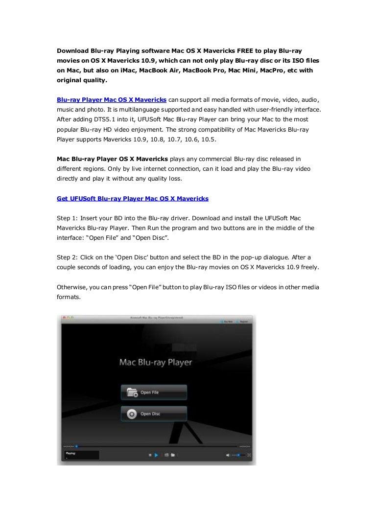 blu ray media player download