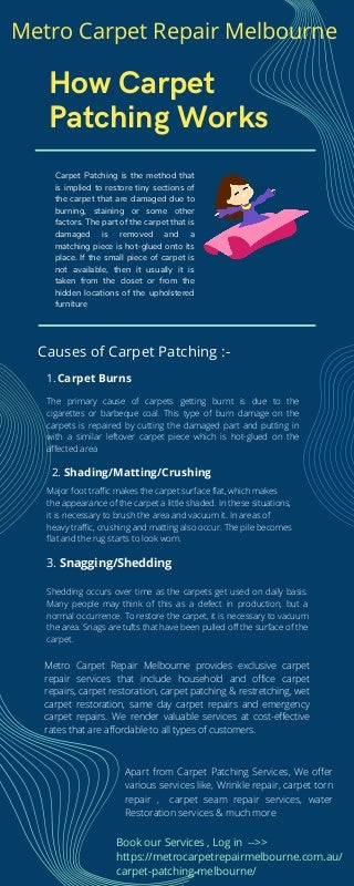 Best Carpet Patch Repair services in Melbourne - Carpet Patch Repair