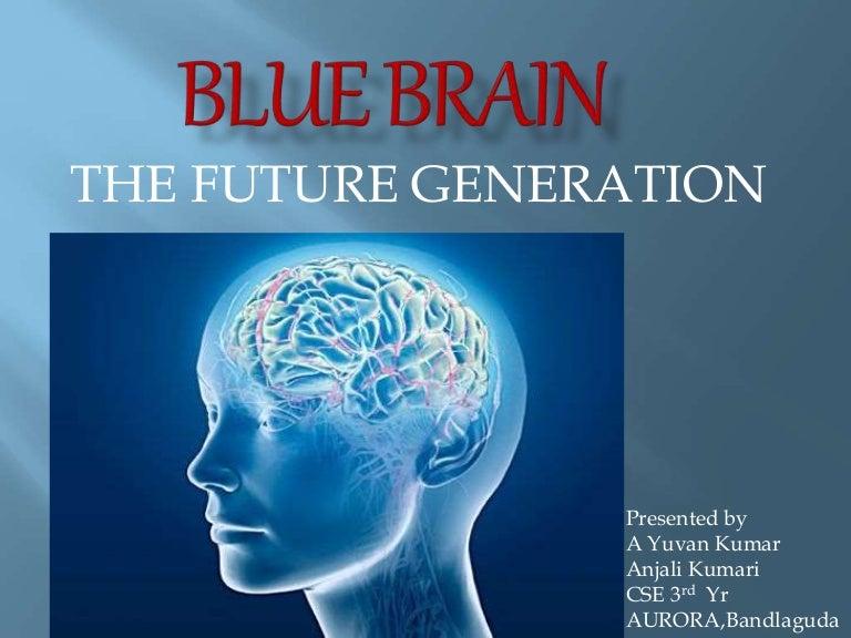 Blue Brain Futuristic Creation