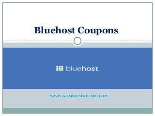 Bluehost coupons and offers, Promo Codes