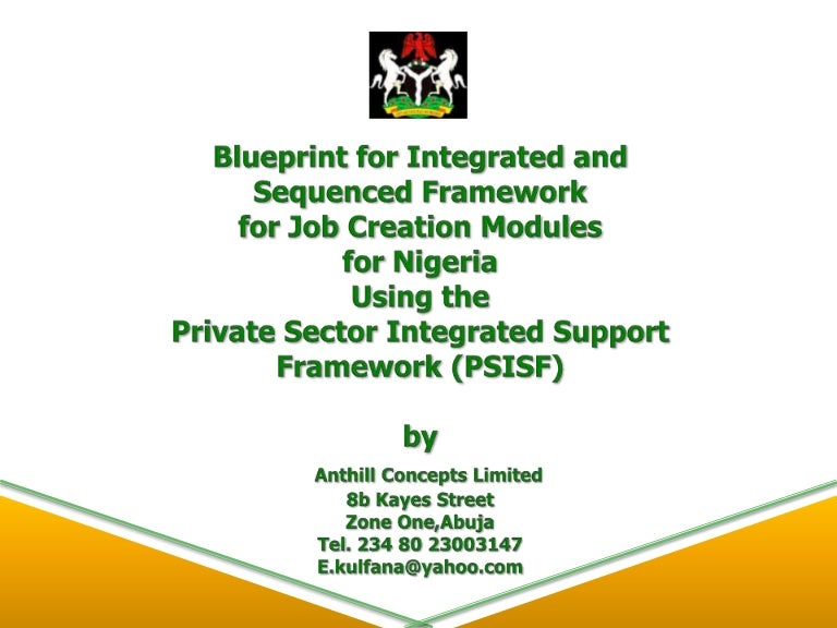 Chief emeka okengwus blueprint for integrated and sequenced framewor malvernweather Images
