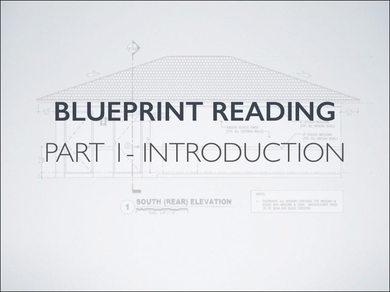 Blueprint reading introduction malvernweather Gallery