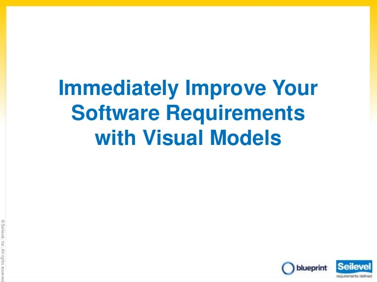 Improve your requirements with visual models malvernweather Gallery