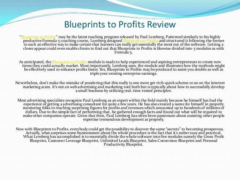 Blueprints to profits review blueprintstoprofitsreview3214 100709013747 phpapp02 thumbnail 4gcb1278639599 malvernweather Images