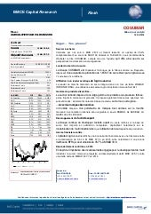Bmce capital research flash cosumar 16 06 16