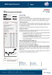 Bmce capital research flash disway du 26 05 16