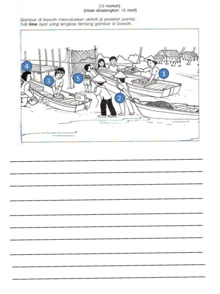 Bahasa Melayu Tahun 4 -Latihan Penulisan Bahagian A