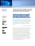 BMI responds to changes in business conditions with actionable information