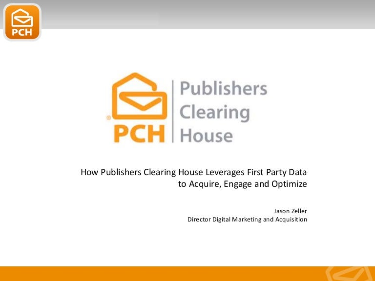 How Publishers Clearing House Leverages Their First Party Data To Acq…