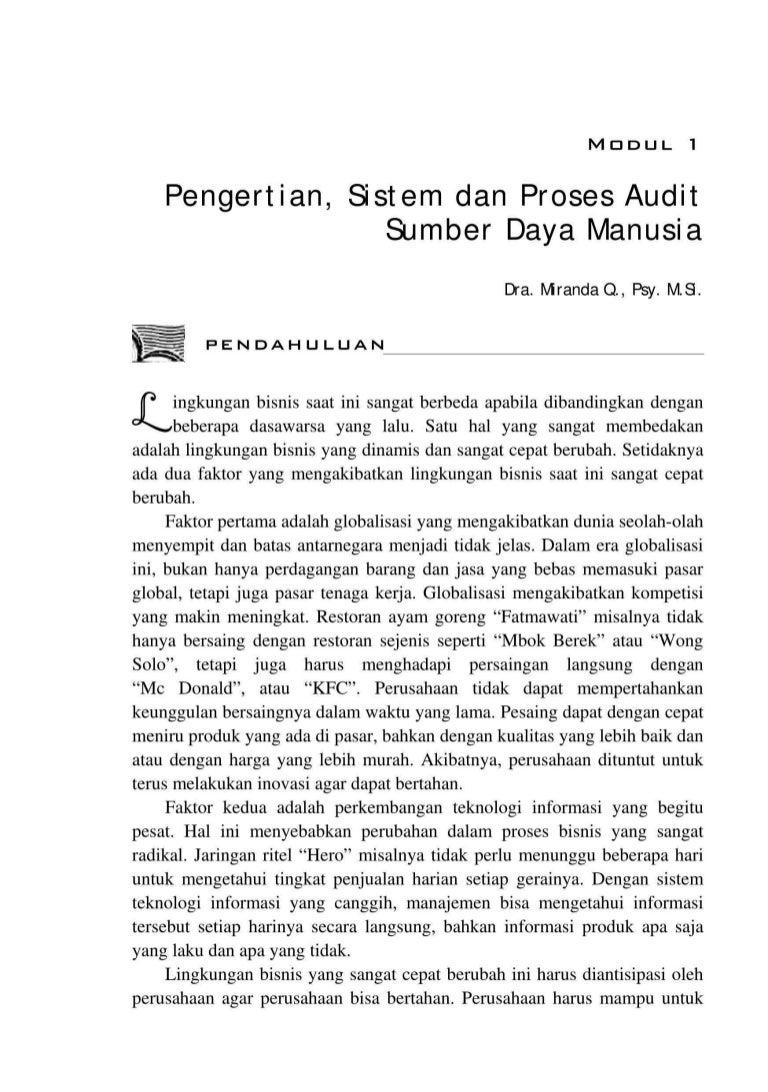 Contoh Laporan Audit Manajemen Perusahaan Jasa Kumpulan Contoh Laporan