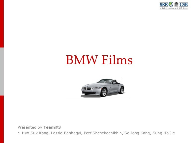 bmw case study conclusion Bmw's objectives were to showcase and feature the range of bmw m vehicles and bmw m performance accessories available, targeting an audience of high-earning income customers, both current and prospective.