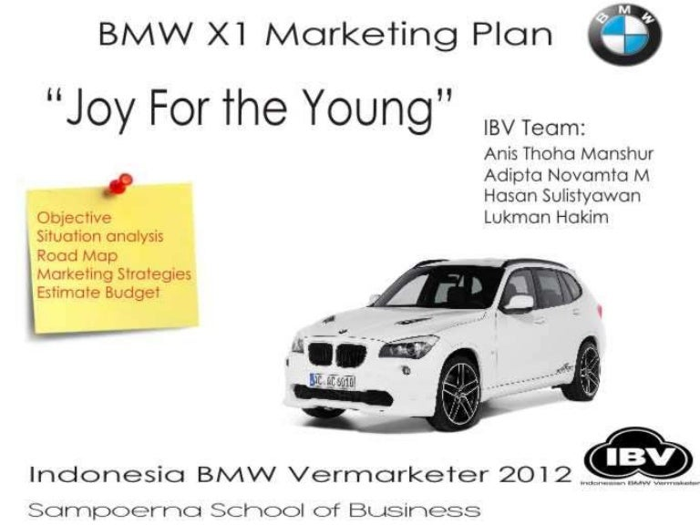 bmw marketing excellence The marketing strategy of bmw group will include their segmentation, target markets, marketing mix and by using swot analysis, the author will describe the advantages and benefits it is delivering to its customers and also its disadvantages.