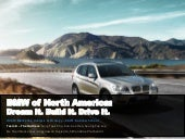 BMW of North America: Dream It. Build It. Drive It.