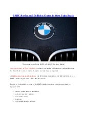 BMW service and collision center in West Palm Beach