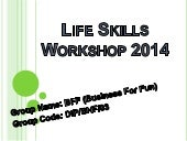 life skills workshop 2020