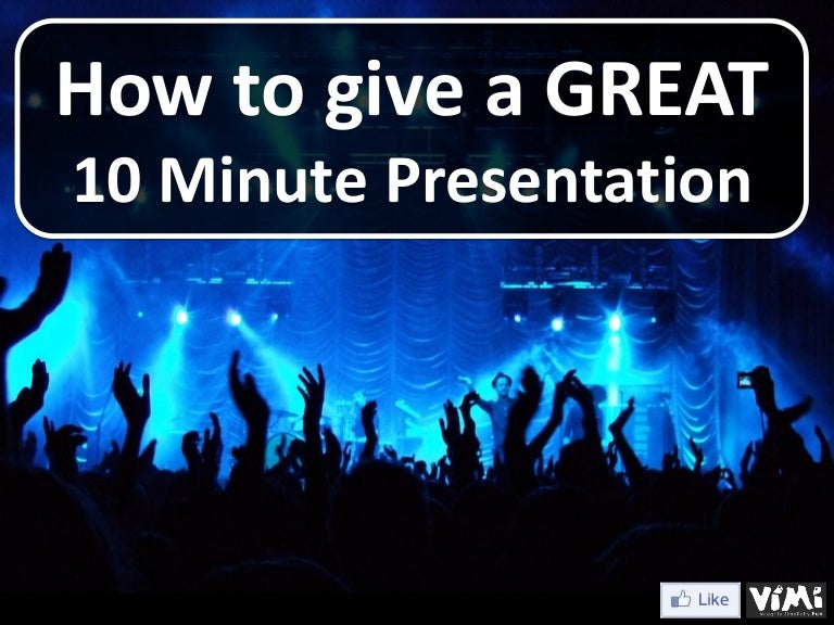 how to give a great 10 minute business introduction presentation, Presentation templates