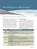 Board Perspectives-Risk Oversight - Issue 48: Risk Appetite Dialogue